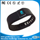 China factory Race Timing Chip Wristbands Disposable Rfid Uhf Silicone With Metal Festival Wristband Clasp