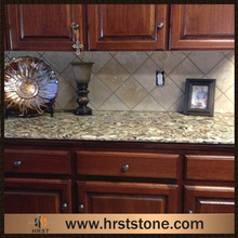 speckled Ferro Gold Granite Countertops