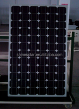 high efficiency 200w 250w 280w 300w mono silicon pv solar panel for home system/business