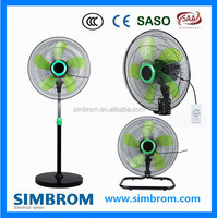 100% Pure Copper Coil High Speed And Strong Wind Outdoor Standing Fan