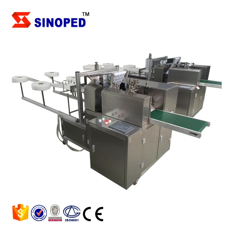 2018 sinoped High Speed Auto Alcohol Swab Making <strong>Machines</strong>