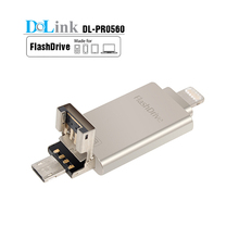 32GB USB3.0 Metal Micro USB OTG Flash Drive For Android Smartphones Tablets PCs