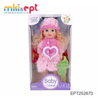 Fashion baby doll for kids pretty girl doll toys for sale
