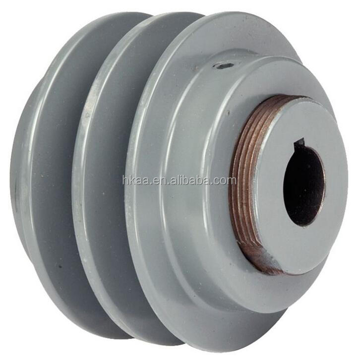High quality cast iron double groove V-Belt Sheave Pulley