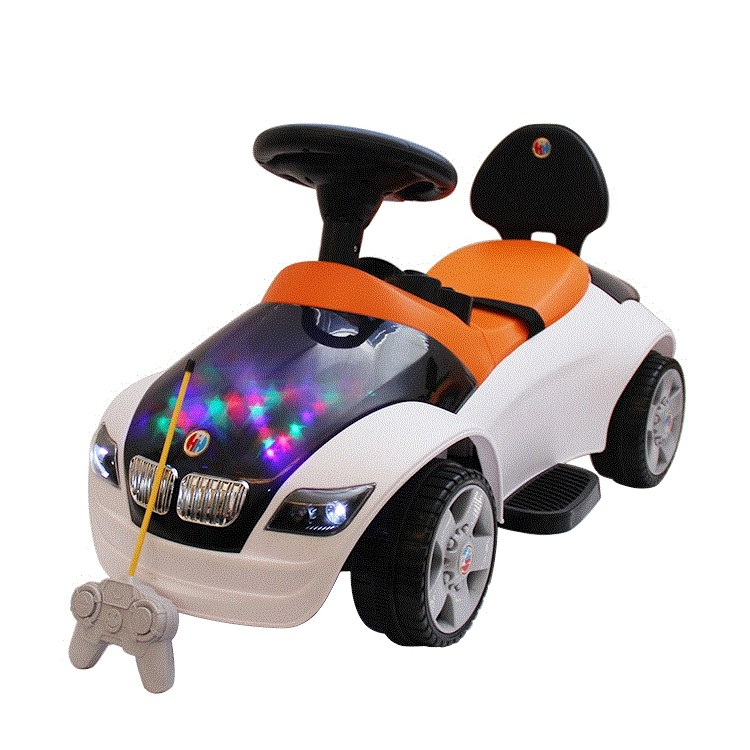 China Hongsida Wholesale Remote Control Ride On Toy Twist Car Baby Swing Car For Sale
