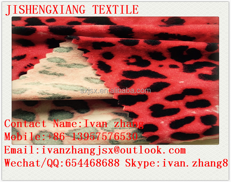 Jishengxiang Professional Factory High Quality Low Price Knitted 100D DTY Soft Touch Double Sides Brush Fabric