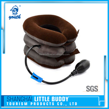 3 layers rest massage traction device inflatable cervical neck pillow