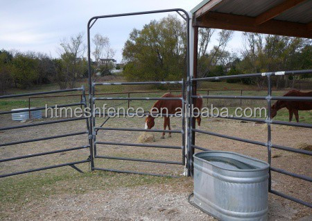 Portable Steel Tubular Round Horse Yard Panel
