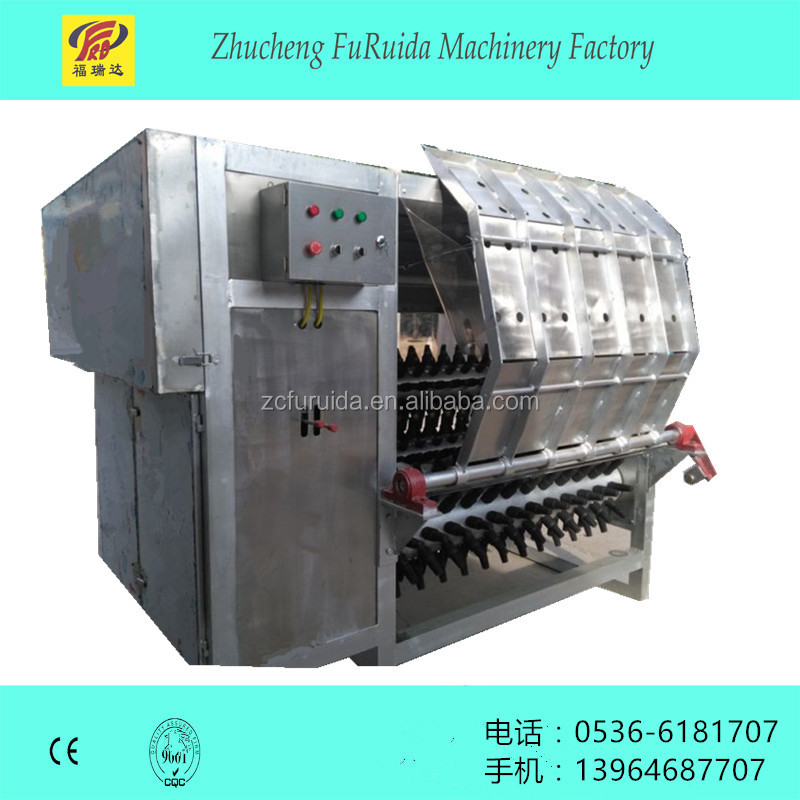 Sheep skin peeling machine for poultry slaughter