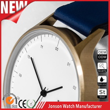 High quality japan 2035 movement quartz watch design your own logo in the watch packaging box