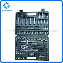 Many Stlyles Good Quality 108PC Socket Wrench Set Bicycle repairing Tools Automotive Service Set Mechanical Tool Set