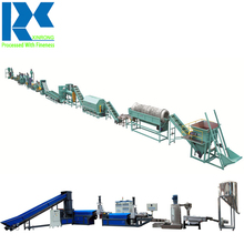 PET Bottle Recycling Machine Price, Plastic Granulating Machine for Sorting Washing Recycling Production