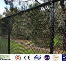 Hot-dipped galvanized iron wire fencing material chain link fence in stock