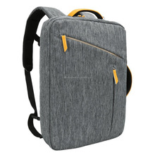 Laptop Briefcase Backpack,Water Resistant Convertible Laptop Canvas Briefcase Backpack - fits up to 17.3-inch Laptop - Gray