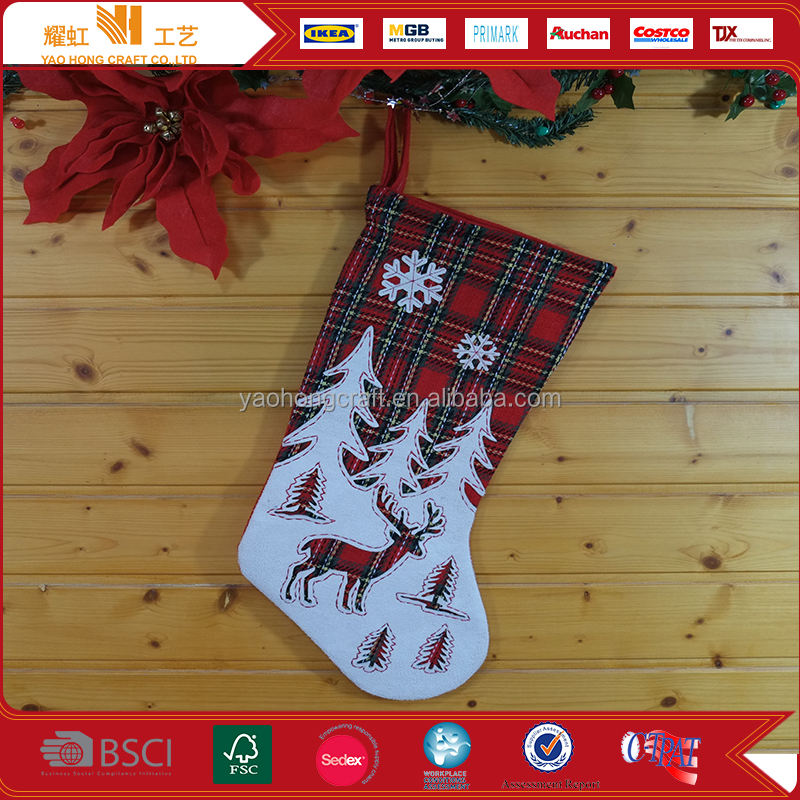 Office Customized Christmas Sock Xmas Crafts