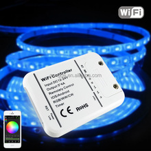 12-24V 5*4A WiFi LED Controller, RGB/W/W Color Changing WiFi LED Controller