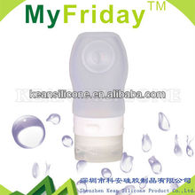 The Newest Unique Designed Silicone Travel Bottle/Silicone Rubber breast