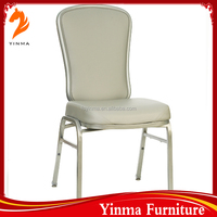 factory direct sell wholesale chateau banquet chairs stackable aluminium hall chair