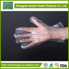 Disposable Plastic Pe Gloves For Medical Using Examination Medical Gloves