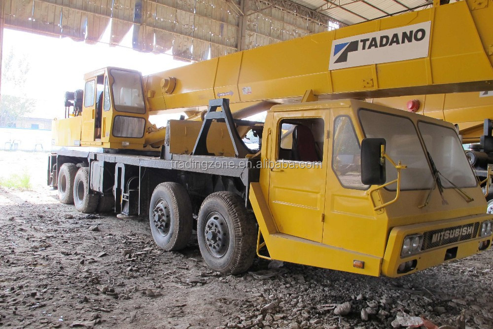 Used TADANO 55-ton truck crane , TG550E Original from Japan, low-costing