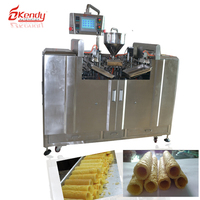 Low cost chocolate filled fully automatic food processing