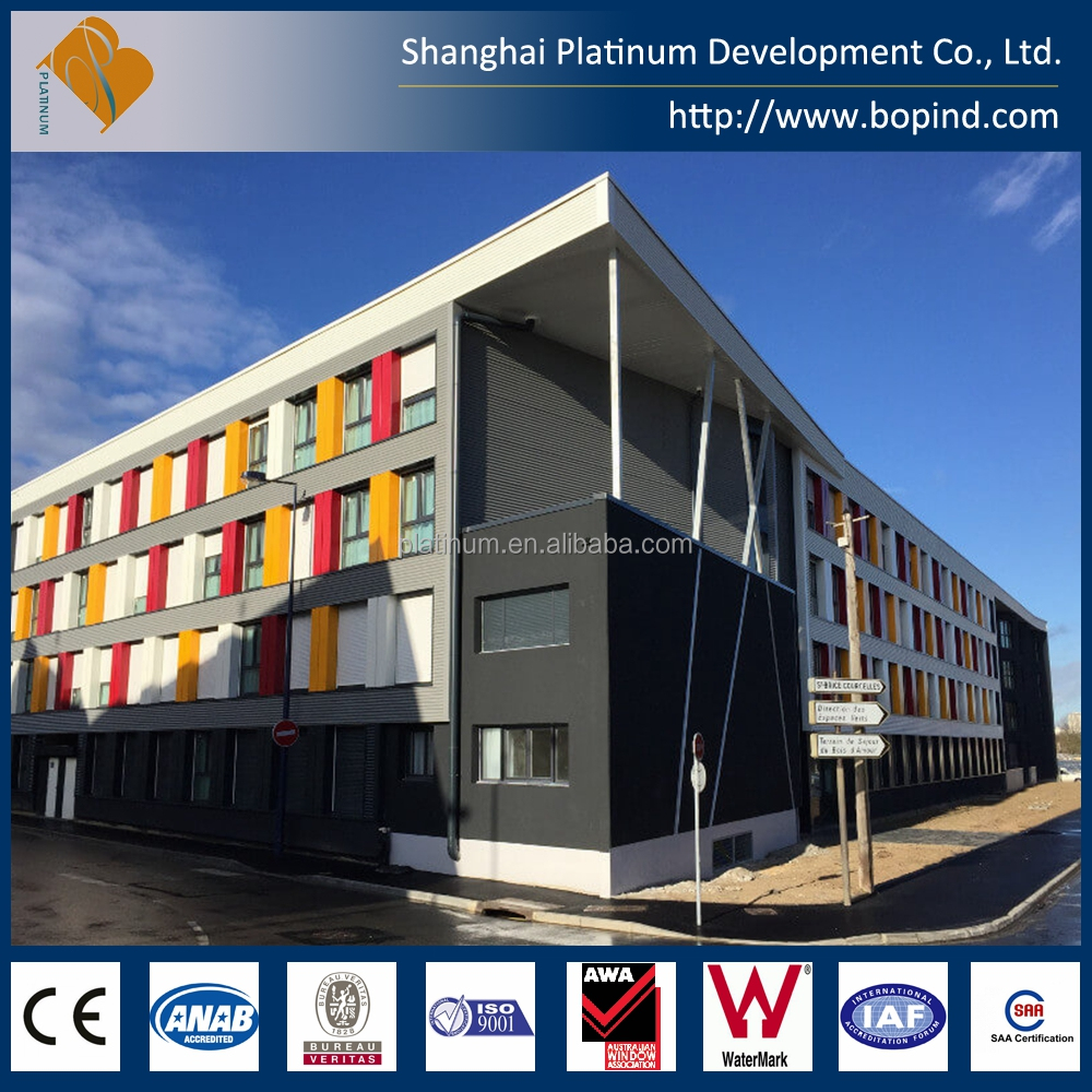 4 Level Modular Container Prefab Apartments Modular Office