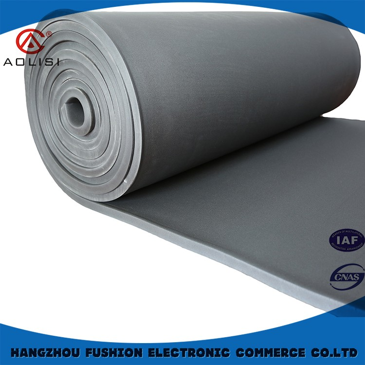 Nbr soft thin foam pvc sheet,black acoustic insulation sheet