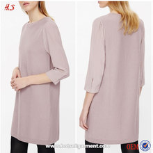 Wholesale Classic Style Names of Girls Wool Dresses Slip On Straight Fit Knit One Piece Dress