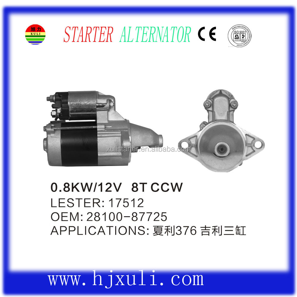 High Quality Used Auto Starter For Sale