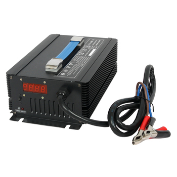 24V battery charger for electric sweeper