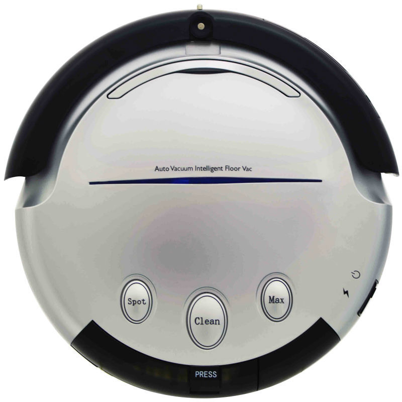 Intelligent wet dry robot vacuum cleaner