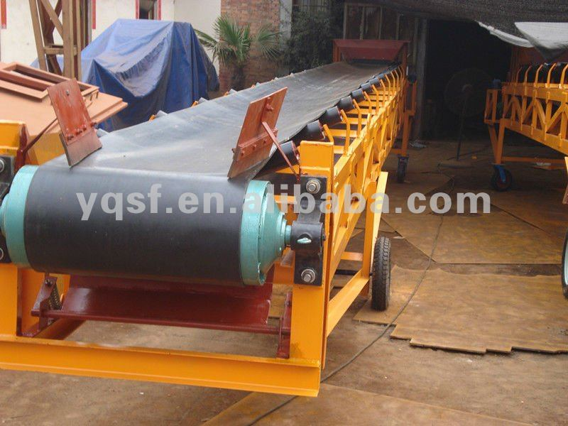pvc conveyor belt used for continuous conveying