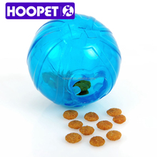 HOOPET high quanlity tpr dog toy balls and pet feeder wholesale