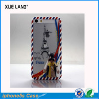 New Style Crystal Clear Hard PC Cover Case for Apple iPhone 5 5S