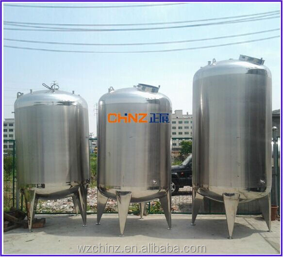 Stainless steel storage tank for olive oil /juice/beverage/milk