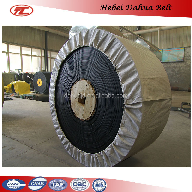 Top quality cotton mult-ply rubber conveyor belt with best price