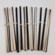 Straight Black Fiber Sticks And Natural Rattan Sticks Set For Oil Diffuser