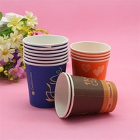 cheap food grade paper single wall 16 oz disposable coffee cups