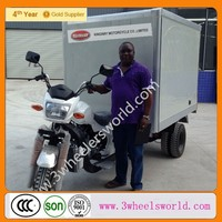 New Gasoline Hot Sale Cheap Popular Cargo Box Tricycles For Advertising