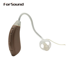 mini size open fit BTE digital hearing aid amplifier good as Siemens hearing aid