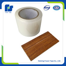 Scrap Plastic Pe film In Roll One-Sided Adhesive Floor Protective Film