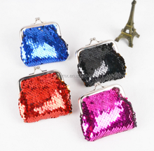 Frame Mini Handbag Custom Sequin Kids Glitter Bag Coin Purse Pouch