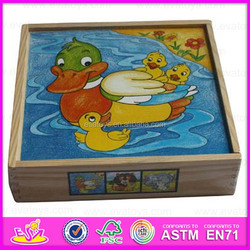 Bestest 3D promotional children's DIY printed wooden puzzle WJ278171