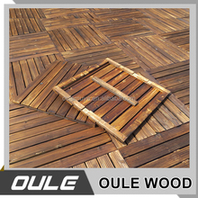 Outdoor waterproof wooden floor / wooden floor for garden use