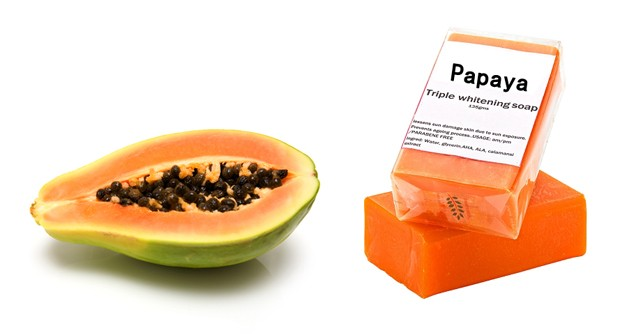 2016 FACTORY OUTLET PAPAYA WHITENING SOAP