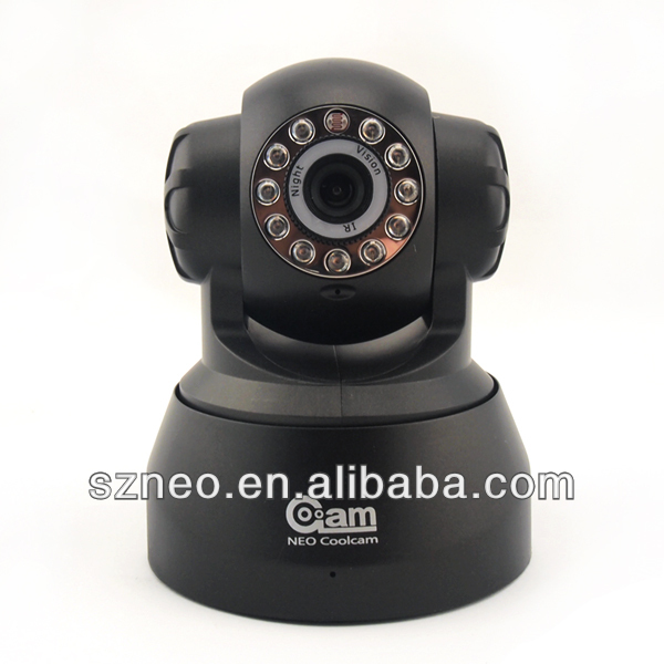Wireless Wired Pan 270 Tilt 120 Dual Audio Alarm Ip camera 15 Meter Night vision 67Viewing Angle Easy install