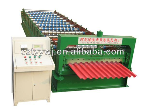 tennis ball machinery standing seam metal roofing panels roll forming machine