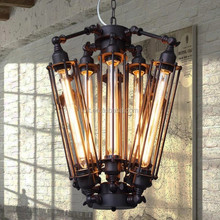 8 head T30 edison bulb industrial vintage pendant lamp hanging lights for dinning room