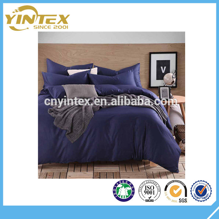 Home Hotel Use 100% Cotton Fabric Bedding Set And Comforter Set