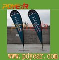Factory price for teardrop Beach Flags/Wholesale Outdoor teardrop flying flags